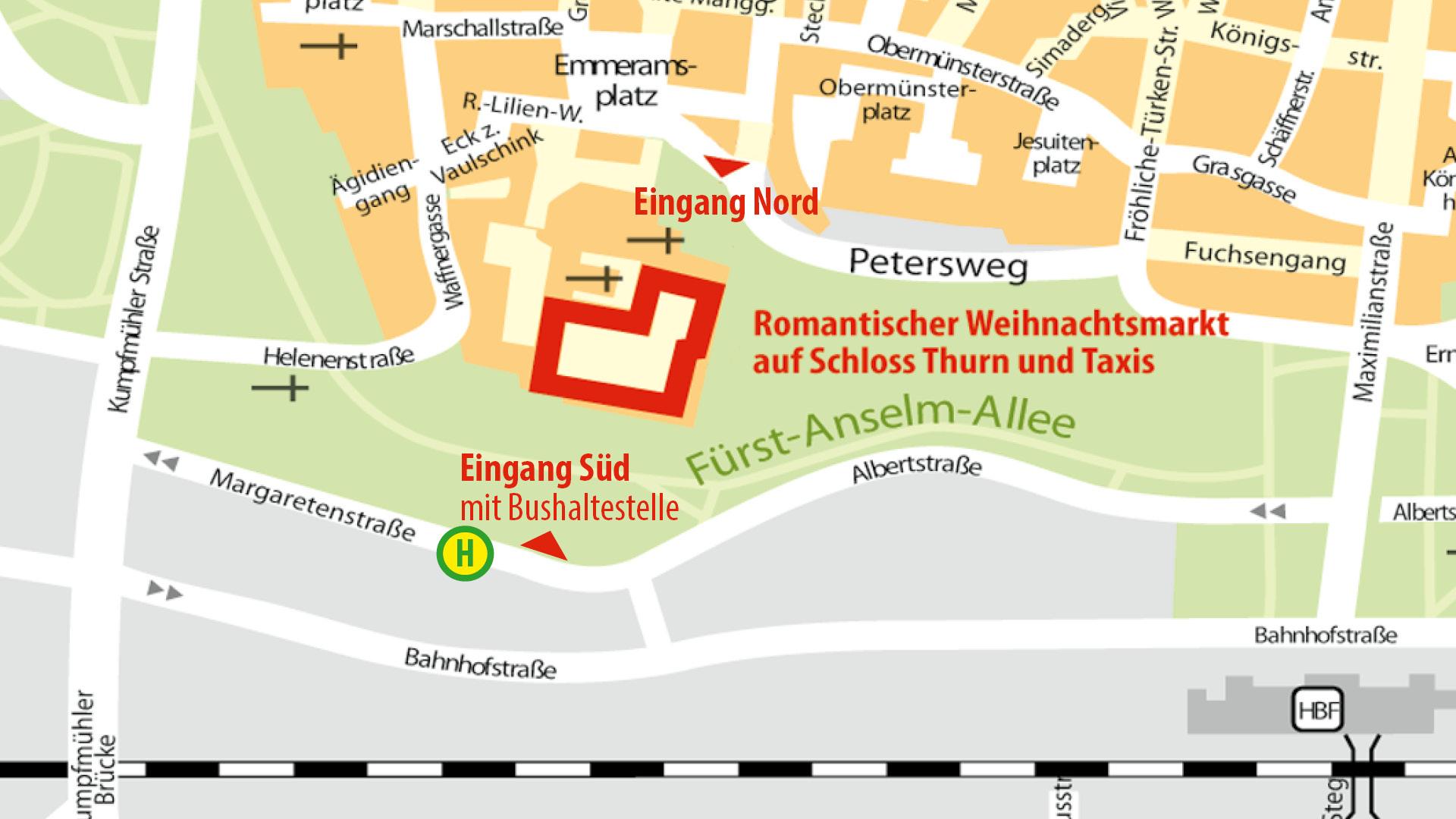 Karte Regensburg Altstadt.Anfahrt Ubernachtung Romantischer Weihnachtsmarkt